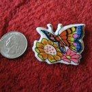 1980's Cartoon Rainbow Butterflies Series Refrigerator Magnet: #4