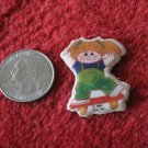 1983 Cabbage Patch Kids Series Refrigerator Magnet: Blonde Haired Girl on Skateboard