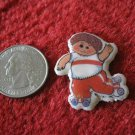 1983 Cabbage Patch Kids Series Refrigerator Magnet: Boy on Roller Skates