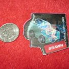 1984 Transformers Hologram Series Refrigerator Magnet: Brawn