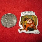 1980's Cartoon Series Refrigerator Magnet: Sherman on the Mound #4