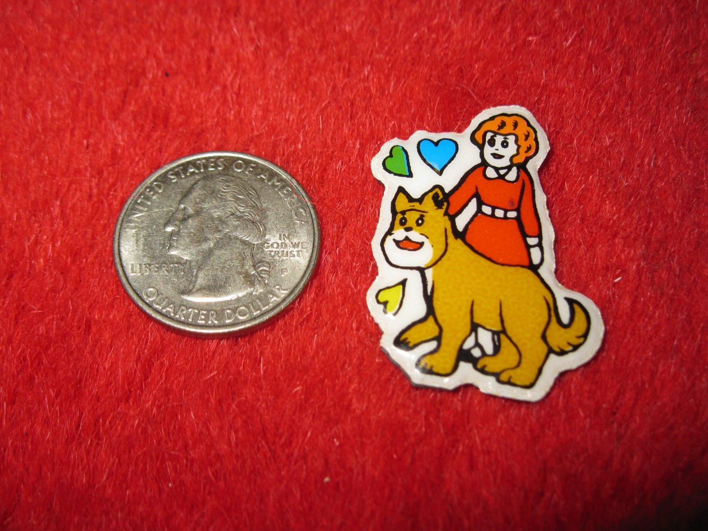 1980's Cartoon Series Refrigerator Magnet: Annie #5