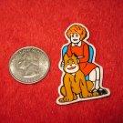 1980's Cartoon Series Refrigerator Magnet: Annie #6