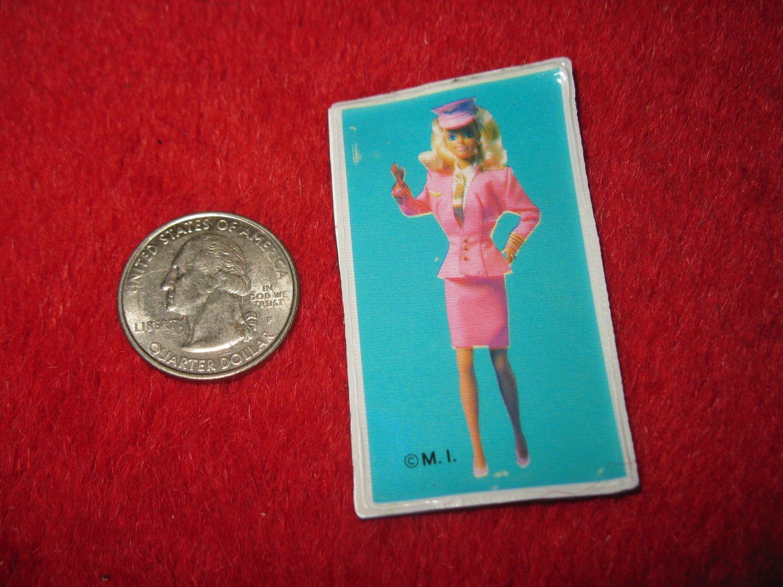 1980's Cartoon Series Refrigerator Magnet: Barbie #2