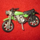 1970's Ridge Riders? Die Cast Motorcycle - Black & Green,