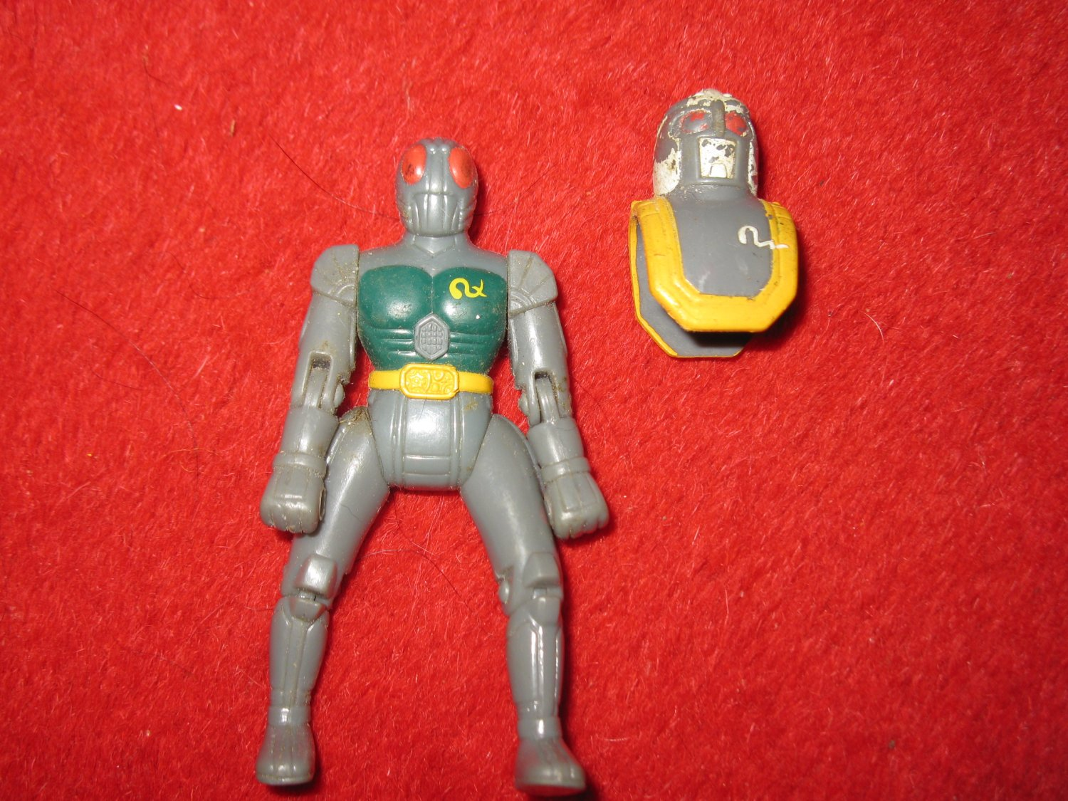 """1997 Masked Rider Saban 3.5"""" Kamen Riders Action Figure - Discovery Concepts"""