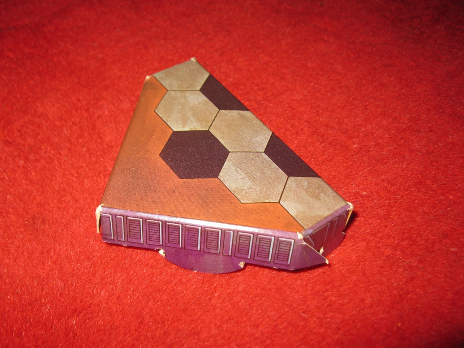 1983 Star Wars; Battle at Sarlacc's Pit Board Game Piece: Game Board part H