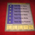1988 The Hunt for Red October Board Game Piece: NATO Task Force Card