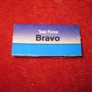 1988 The Hunt for Red October Board Game Piece: BRAVO Blue Ship Tab- NATO