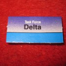 1988 The Hunt for Red October Board Game Piece: DELTA Blue Ship Tab- NATO