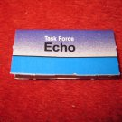 1988 The Hunt for Red October Board Game Piece: ECHO Blue Ship Tab- NATO