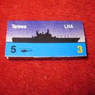 1988 The Hunt for Red October Board Game Piece: Tarawa Blue Ship Tab- NATO