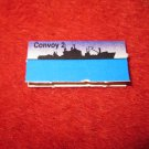 1988 The Hunt for Red October Board Game Piece: Convoy 2 Blue Ship Tab- NATO