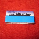 1988 The Hunt for Red October Board Game Piece: Convoy 1 Blue Ship Tab- NATO