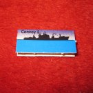 1988 The Hunt for Red October Board Game Piece: Convoy 3 Blue Ship Tab- NATO
