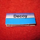 1988 The Hunt for Red October Board Game Piece: Decoy Blue Ship Tab- NATO