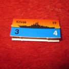 1988 The Hunt for Red October Board Game Piece: Krivak Red Ship Tab- Soviet