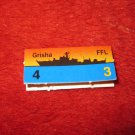 1988 The Hunt for Red October Board Game Piece: Grisha Red Ship Tab- Soviet