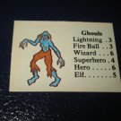 1980 TSR D&D: Dungeon Board Game Piece: Monster 2nd Level - Ghouls