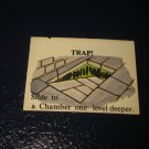 1980 TSR D&D: Dungeon Board Game Piece: Monster 3rd Level - Trap!