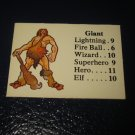 1980 TSR D&D: Dungeon Board Game Piece: Monster 5th Level - Giant