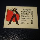 1980 TSR D&D: Dungeon Board Game Piece: Monster 6th Level - Vampire