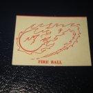 1980 TSR D&D: Dungeon Board Game Piece: Spell - Fire Ball