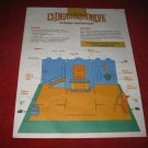 1993 - 13 Dead End Drive Board Game Piece: Assembly Instructions