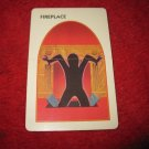 1993 - 13 Dead End Drive Board Game Piece: Fireplace Trap Card