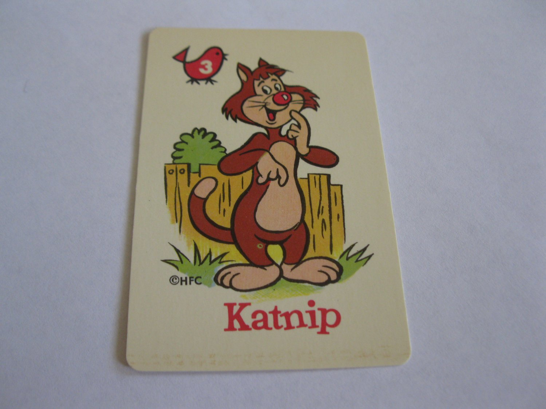 1960's Harvey Comics Edu-Card: Katnip