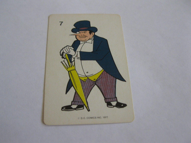 1977 DC Comics Game Card #7: The Penguin