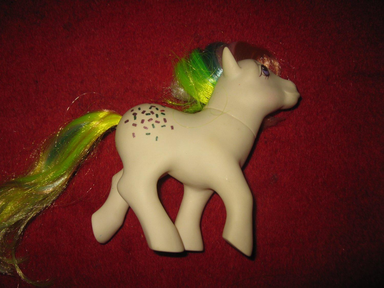 Vintage My Little Pony: 1984 Confetti - Rainbow