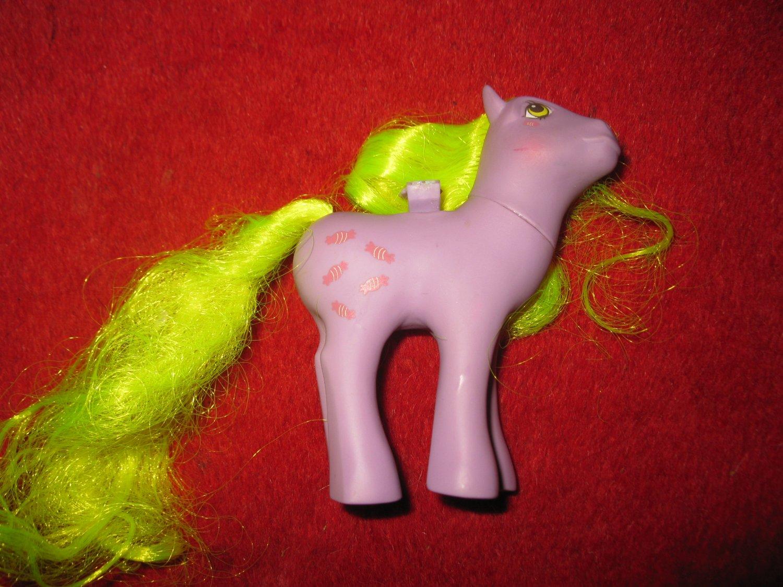 Vintage My Little Pony: 1986 Flutter - Yum Yum