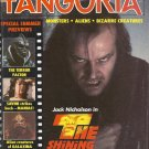 1980 Vintage Horror Magazine: Fangoria #7 - The Shining cover