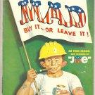 1971 Mad Magazine #144 - 'Average JOE' cover