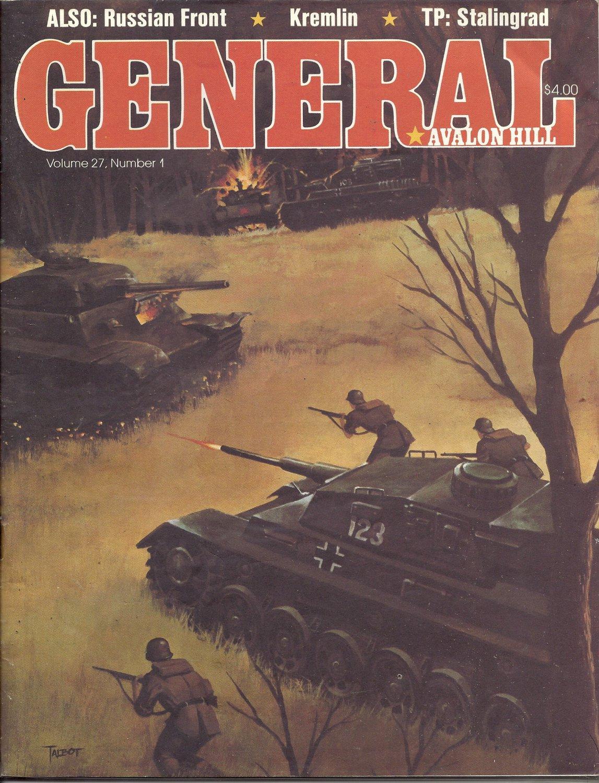 1991 Vintage Game Magazine: Avalon HIll- General Vol. 27 #1