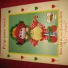 1984 Lollipop Lane 'Dumplin Designs' Doll pattern folder #CDC412: Peppermint Stick