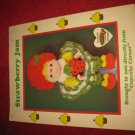 1984 Lollipop Lane 'Dumplin Designs' Doll pattern folder #UP-3: Strawberry jam