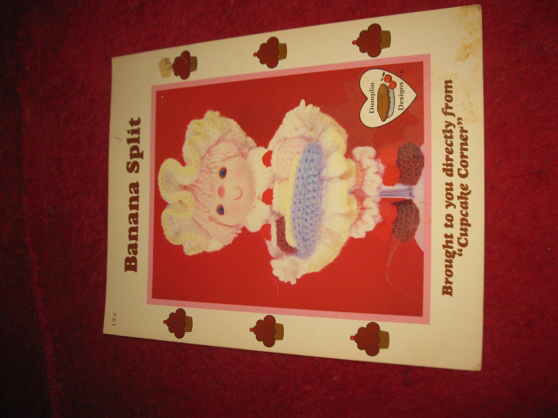 1984 Lollipop Lane 'Dumplin Designs' Doll pattern folder #UP-6: Banana Split