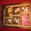 1977 Leisure Arts Pattern Folder Leaflet #109: Crocheted Critters patterns