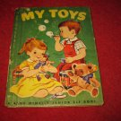 1955 Junior Elf Hardcover book #8051: My Toys - by Augusta Goldin