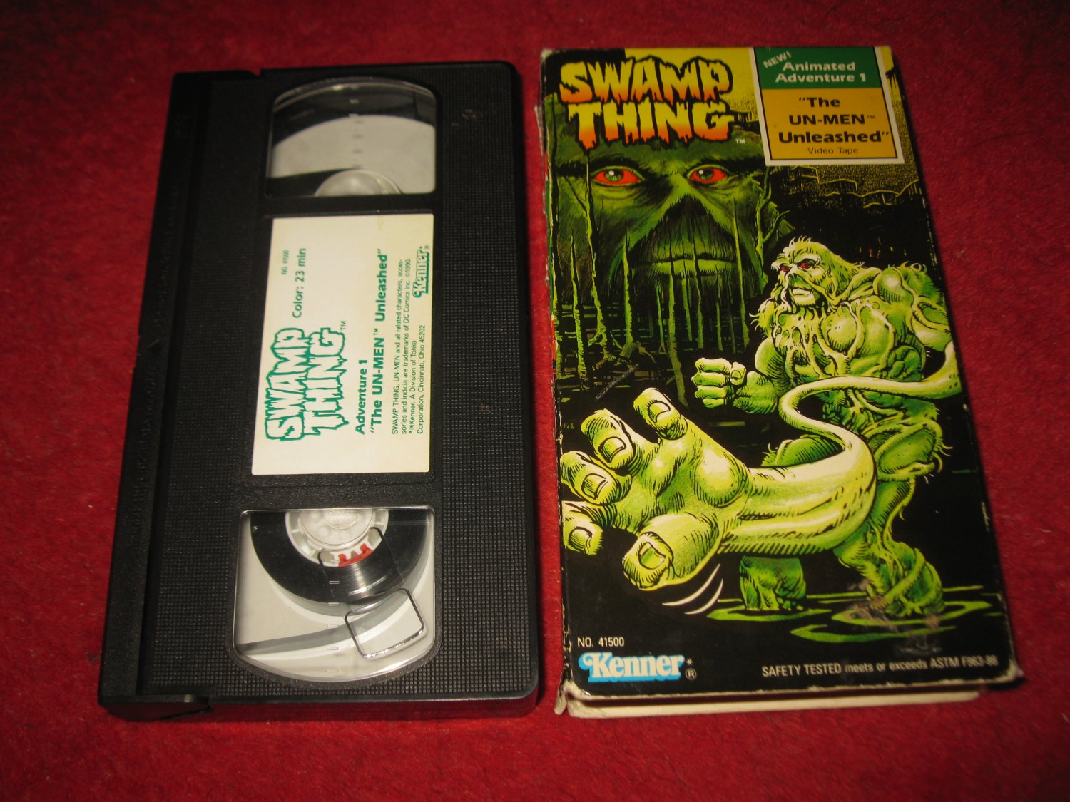 1990 Swamp Thing VHS Movie : The Un-Men Unleashed