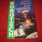 1993 Robotech, First Generation #5: Force of Arms - by Jake McKinney - paperback