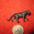 Vintage Marx..? Miniature Playset figure: Rare Black Panther / Mountain Lion