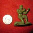 Vintage Miniature Playset figure: RARE MPC #27 Green Plastic Toy Soldier w/ Removedable gun