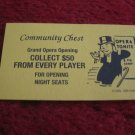 2004 Monopoly Board Game Piece: Collect $50 from every Player Community Chest Card