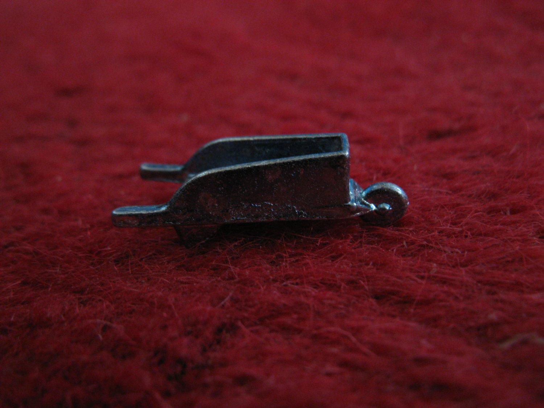 2004 Monopoly Board Game Piece: Wheel Barrow Metal Pawn
