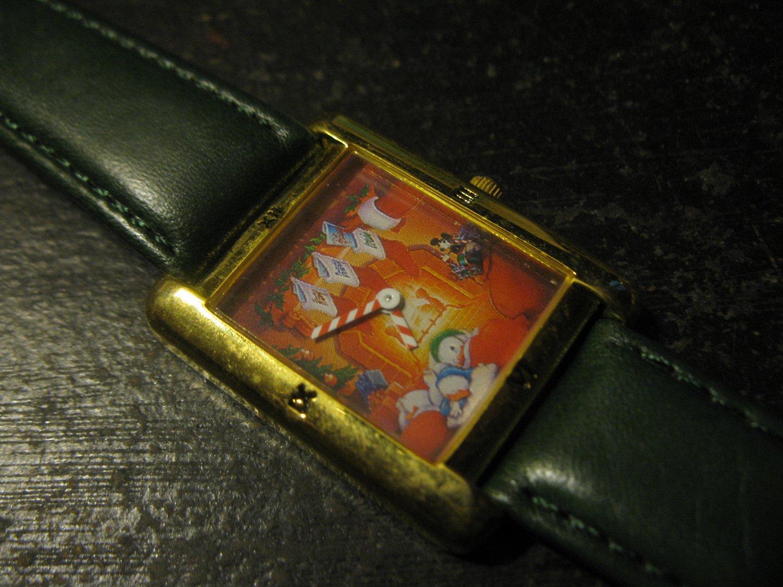 1993 Disney Watch: Holiday Greetings Huey, Dewey & Louie - limited ed. #0136/1000 made