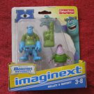 Brand New 2012 Fisher-Price Imaginext Monsters University Figure Set: Sulley & Squishy
