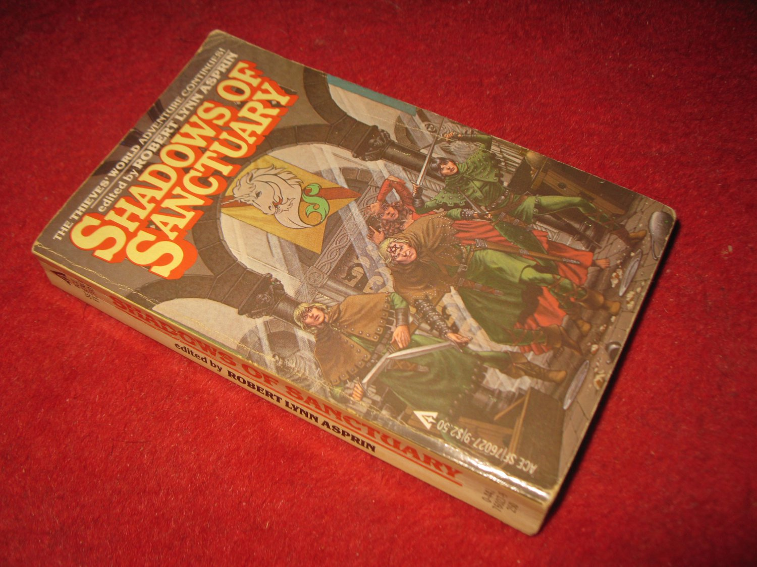 1981 Shadows of Sanctuary (after thieves world #3) - by Robert Lynn Asprin - Ace books - paperback